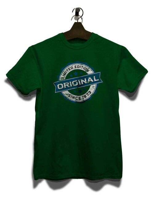 Original Since 1973 T-Shirt dunkelgruen L