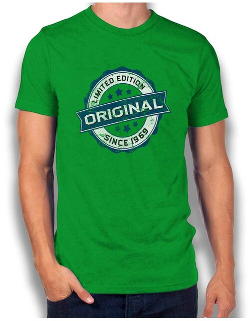 Original Since 1969 T-Shirt gruen L