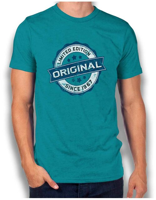Original Since 1967 T-Shirt tuerkis L