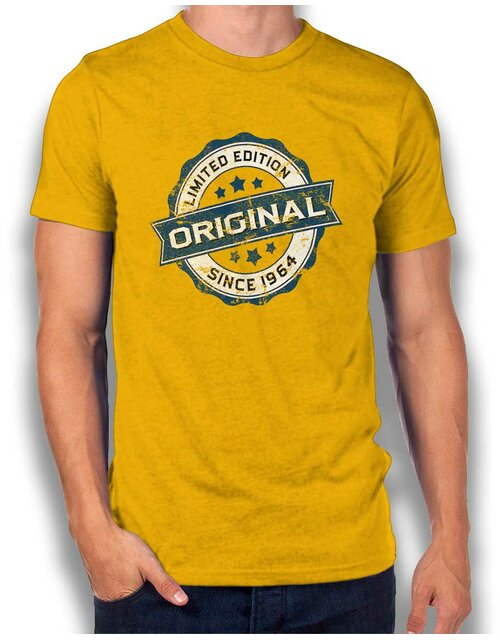 Original Since 1964 T-Shirt gelb L