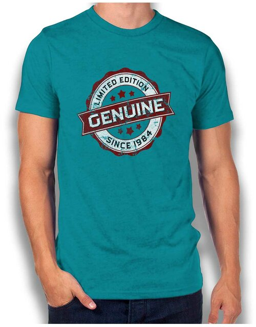 Genuine Since 1984 T-Shirt tuerkis L