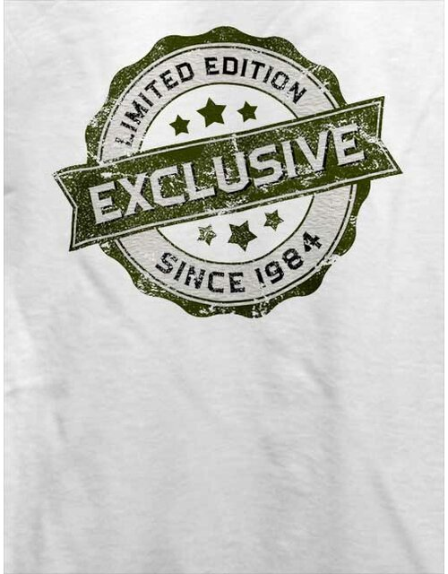 Exclusive Since 1984 T-Shirt weiss L