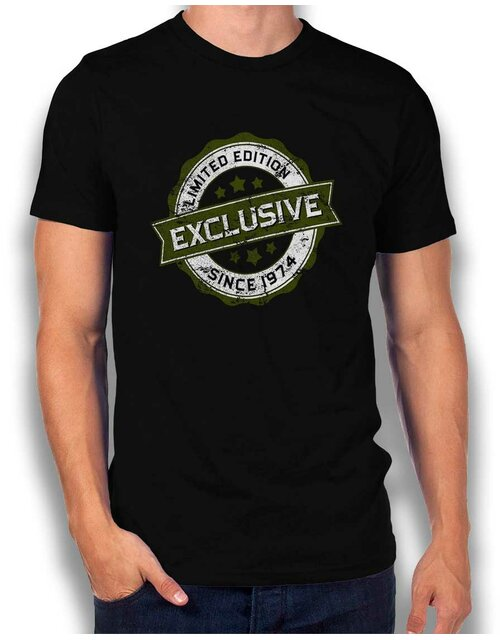 Exclusive Since 1974 T-Shirt schwarz L