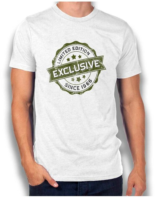 Exclusive Since 1966 T-Shirt weiss L
