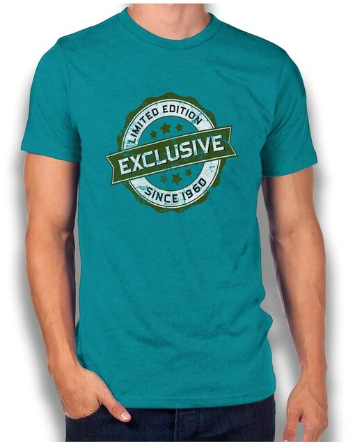 Exclusive Since 1960 T-Shirt tuerkis L