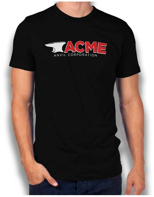 Acme Anvil Corporation T-Shirt schwarz L