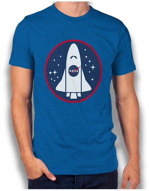 Nasa Shuttle Logo T-Shirt royal L