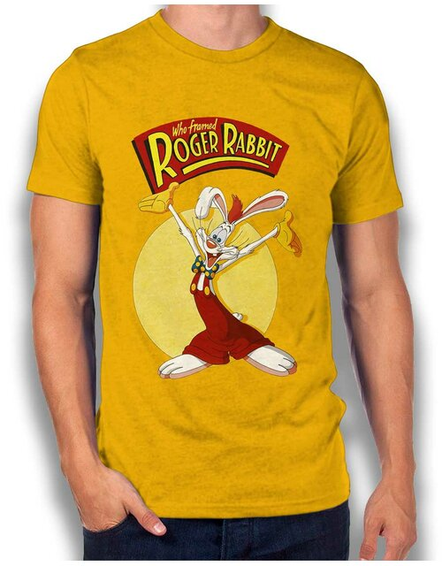 Roger Rabbit T-Shirt yellow L