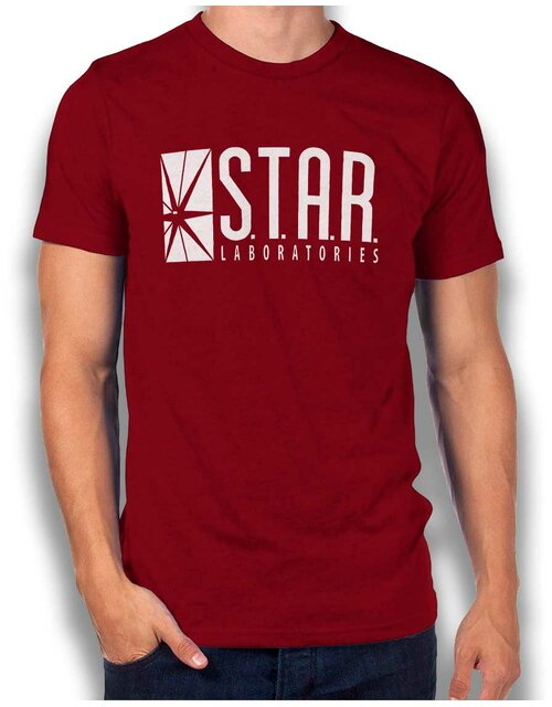 Star Labs Logo T-Shirt bordeaux S