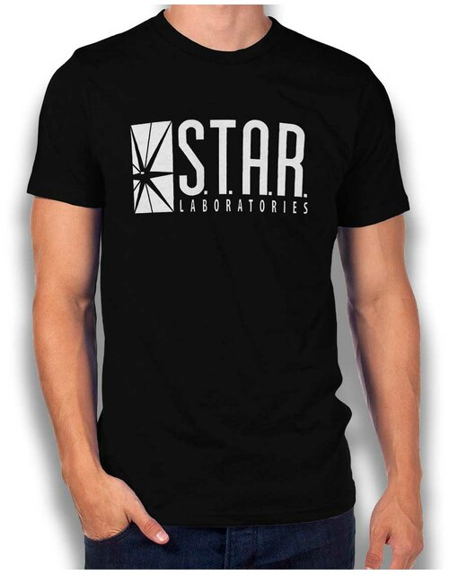 Star Labs Logo T-Shirt black L