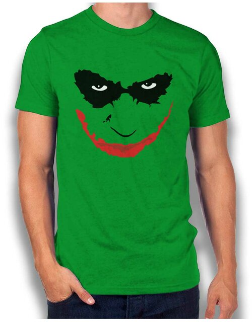 Joker Heath Ledger T-Shirt gruen L