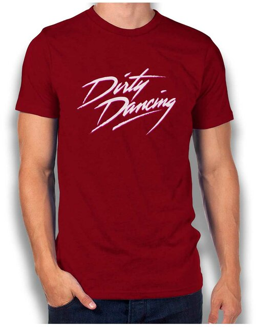 Dirty Dancing T-Shirt maroon L