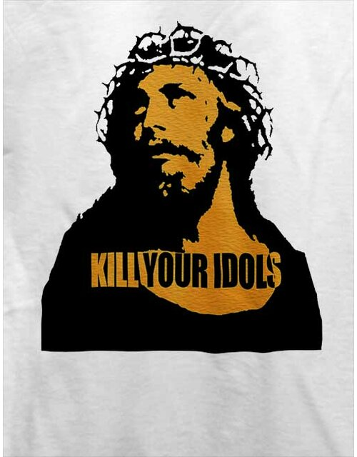 Kill Your Idols T-Shirt weiss L