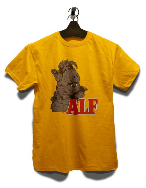 Alf T-Shirt yellow L