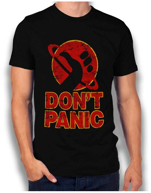 Dont Panic T-Shirt black L
