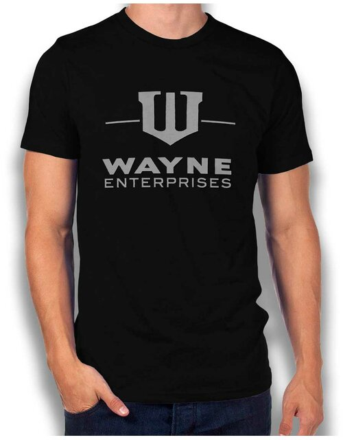 Wayne Enterprises T-Shirt schwarz L