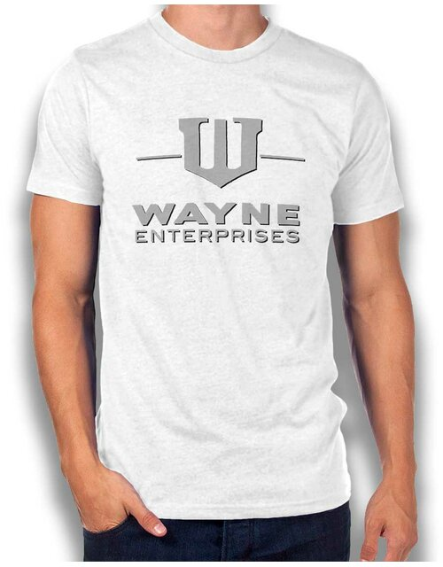 Wayne Enterprises T-Shirt weiss L