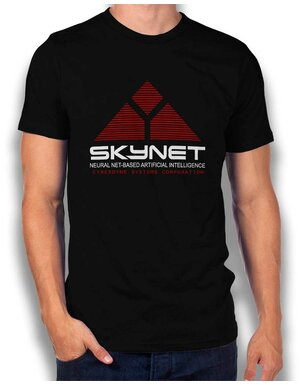 Skynet Cyberdyne Systems Corporation T-Shirt schwarz L