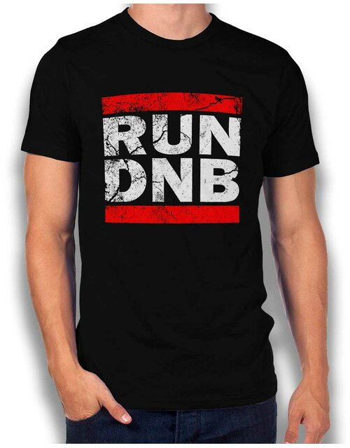Run Dnb Vintage T-Shirt black L