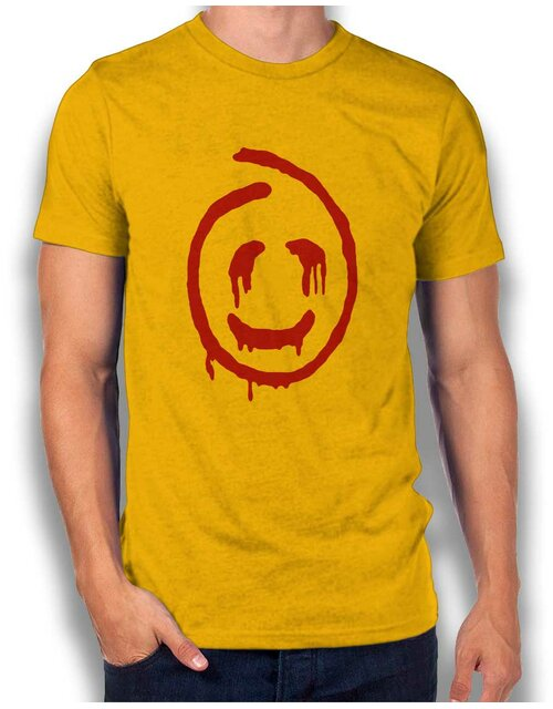 Red John Smiley T-Shirt gelb L