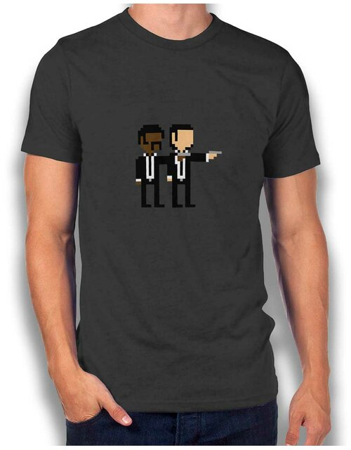Pulp Fiction T-Shirt dunkelgrau L