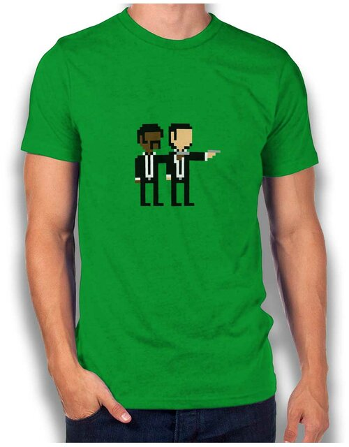 Pulp Fiction T-Shirt gruen XL