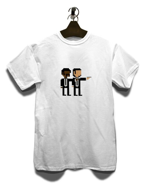 Pulp Fiction T-Shirt weiss 2XL