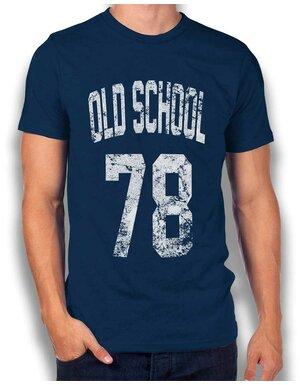 Oldschool 1978 T-Shirt navy L ...