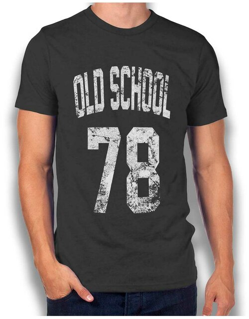 Oldschool 1978 T-Shirt dark-gray L