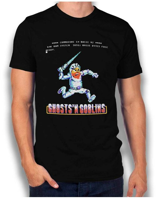 Ghosts N Goblins T-Shirt schwarz L