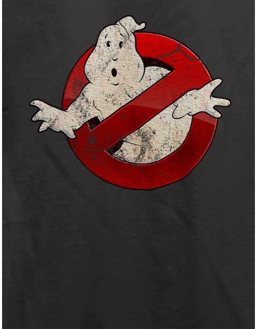 Ghostbusters Vintage T-Shirt dark-gray L