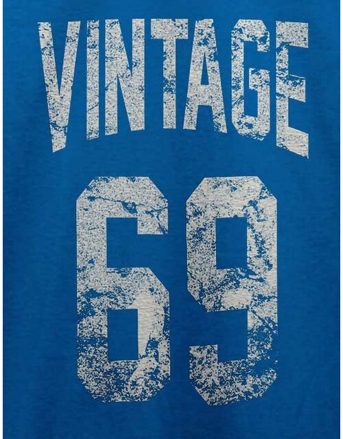 Vintage 1969 T-Shirt royal M