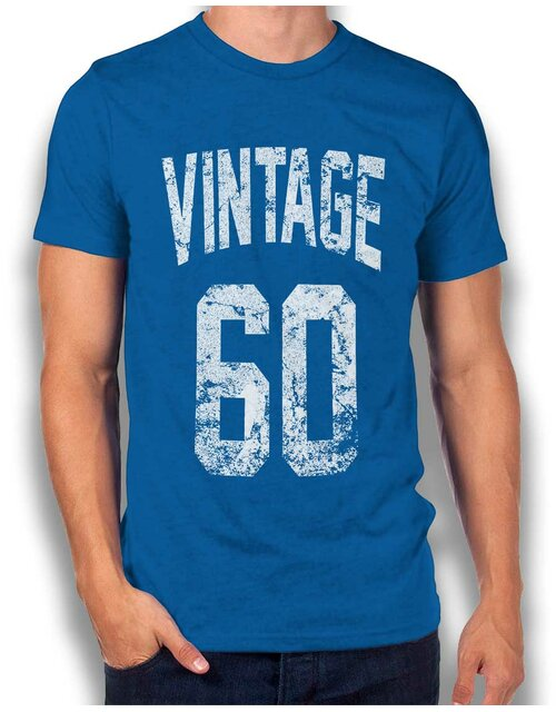 Vintage 1960 T-Shirt royal L