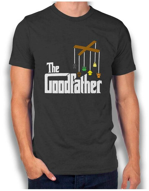 The Goodfather T-Shirt dunkelgrau L