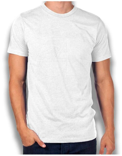 Studio54 Logo Weiss T-Shirt white L
